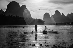 Fishing net - Cormorant Fisherman