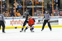 "Missouri Mavericks vs. Allen Americans, March 10, 2017, Silverstein Eye Centers Arena, Independence, Missouri.  Photo: © John Howe / Howe Creative Photography, all rights reserved 2017 • <a style=""font-size:0.8em;"" href=""http://www.flickr.com/photos/134016632@N02/33023732430/"" target=""_blank"">View on Flickr</a>"
