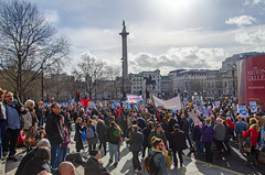 March for the NHS (Gaz-zee-boh) Tags: marchforthenhs 4march2017 nationaldemonstration supportthenhs endtheprivatisationofthenhs london tradeunions nhs protest almostanything nikon d7k londonlandmarks