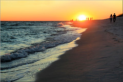 Some sun and warmth is needed now ... (Bernergieu) Tags: florida sunset beach waterside