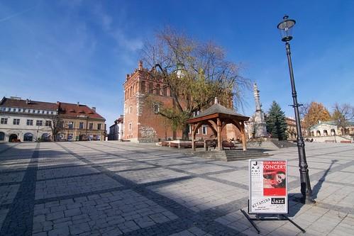 Rynek w Sandomierzu od południowego wschodu