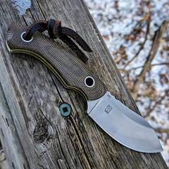 Boker Nessmi fixed blade (edcbyfrank) Tags: everydaycarry edc bokernessmi boker nessmi nessmuk fixedblade knife micarta vox voxnaes jespervoxnaes