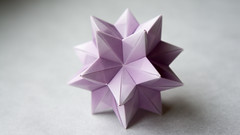 Star Ball (dizkaimo) Tags: origami kusudama tomokofuse