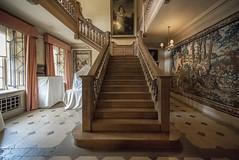 Upton House Stairway (Darwinsgift) Tags: house d stairway national trust nikkor f28 warwickshire upton 14mm