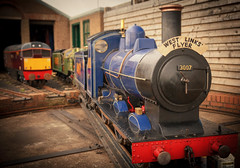 little train (garyth2012) Tags: architecture train canon happy miniature little dundee angus railway arbroath kerrs