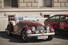 Vienna Classic Days 2015 - Morgan Plus 4 (konceptsketcher) Tags: vienna auto uk classic photography austria europe 4 days classics oldtimer plus morgan 2015 canon70d konceptsketcher