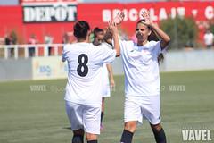 Sevilla Femenino - Hispalis 009 (VAVEL Espaa (www.vavel.com)) Tags: futbolfemenino hispalis futfem segundadivisionfemenina sevillavavel sevillafemenino juanignaciolechuga futbolfemeninovavel cdhispalis sevillafcfemenino