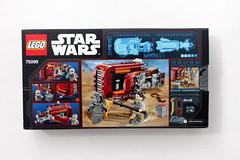 LEGO Star Wars: The Force Awakens Rey's Speeder (75099) (tormentalous) Tags: lego legostarwars 75099 starwarstheforceawakens reysspeeder
