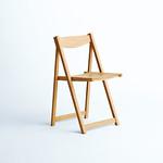 折りたたみ椅子の写真