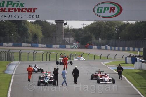 BRDC F4 Race Two at Donington Park, September 2015