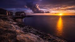 Fungus rock at sunset - Gozo, Malta - Landscape photography