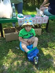 Little T's little pit-stop :) (lemmingby) Tags: people travels tisha child trips belarus