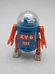 XY 6 (The Moog Image Dump) Tags: vintage toy robot space r2d2 figure 1980 r2 playmobil playmospace xy6
