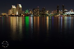 Cloudless night (lit t) Tags: california city longexposure nightphotography skyline night canon photography lights san long exposure sandiego diego terri citylights taylor coronado doak sandiegoskyline 60d canon60d terridoaktaylor
