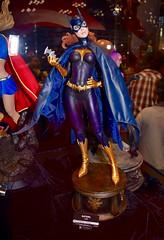 DSC_0228 (Randsom) Tags: nyc newyorkcity statue fun october cosplay heroine superhero comicbooks batgirl dccomics spandex javitscenter batwoman 2015 nycc superheroine nycomiccon newyorkcomiccon batmanfamily nycc2015
