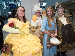 Captives Of The Beast (andyi) Tags: new york city newyorkcity cosplay disney belle comicon beautyandthebeast nycc