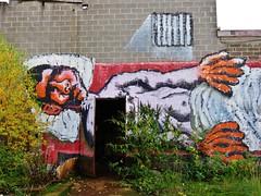 Cane Morto / Gentbrugge - 30 okt 2015 (Ferdinand 'Ferre' Feys) Tags: streetart graffiti belgium belgique belgië cm urbanart graff ghent gent gand graffitiart arteurbano artdelarue urbanarte canemorto