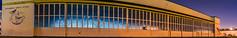 hanger 41 (pbo31) Tags: california blue windows panorama color history fall yellow night dark giant island airport nikon october closed doors navy large panoramic historic bayarea sanfranciscobay eastbay former alameda base stitched panam hanger seaplane nas alamedacounty 41 airbase 1935 chinaclipper 2015 alamedanavalairstation boury pbo31 d810