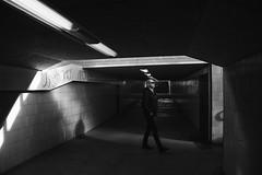 Commuting (Thomas Korver) Tags: city light tracks streetphotography commuting