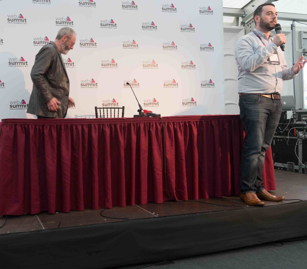 WEB SUMMIT 2015 - LIAM CUNNINGHAM MEETS THE PRESS [ACTOR]-109580