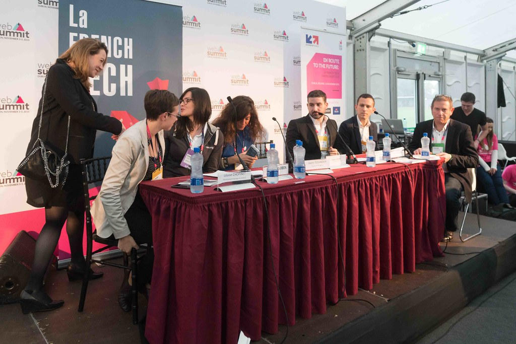 TODAY AT THE WEB SUMMIT THERE WAS A PRESS CONFERENCE HOSTED BY AXELLE LEMAIRE [FRENCH MINISTER RESPONSIBLE FOR DIGITAL AFFAIRS]-109916