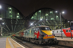 For The Fallen (96tommy) Tags: uk november roof england london station electric night train photography for coast photo day cross britain united great transport traction shed railway kingdom trains class east virgin kings fallen transportation poppy gb locomotive remembrance 91 livery 2015 91111