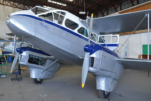 de Havilland DH89A Dragon Rapide 'TX310' (G-AIDL)