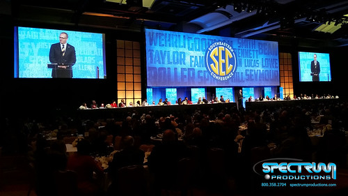 "Spectrum Productions - Southeastern Conference Coaches Luncheon & Legends Dinner • <a style=""font-size:0.8em;"" href=""http://www.flickr.com/photos/57009582@N06/23552110831/"" target=""_blank"">View on Flickr</a>"