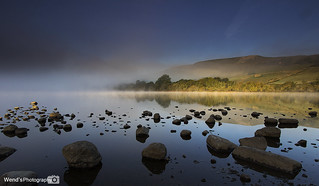Mist at Semerwater lake, Yorkshire Dales [Explored]
