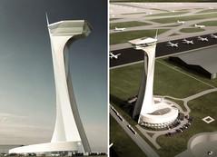 Прект диспетчерской башни аэропорта Стамбула от Grimshaw + Nordic