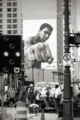 Detroit - December 2015 (DJ Wolfman) Tags: blackandwhite michigan detroit olympus mo ali omd muhammadali detroitmi shinola muhammadalicenter