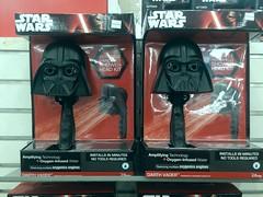 Black Plastic Star Wars Shower Head Kit With Oxygen-Infused Water (?) (Lynn Friedman) Tags: sanfrancisco starwars placebo showerhead 94103 merchandising junkscience lynnfriedman oxygenatedwater