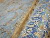 Old Blue mosque tile decoration details - Tabriz, Iran (Germán Vogel) Tags: asia westasia middleeast centralasia iran iranian silkroad middleeastculture muslim muslimculture travel traveldestinations traveltourism tourism touristattractions landmark bluemosque tabriz eastazerbaijan ceramic mosaic design decoration detail architecture minaret facade art pattern beautiful islam islamic mosque