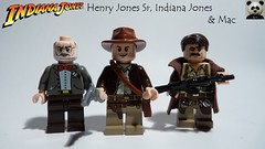 Indiana Jones - Henry Jones Sr., Indiana Jones & Mac (Random_Panda) Tags: lego figs fig figures figure minifigs minifig minifigures minifigure purist purists character characters film films movie movies television tv indiana jones