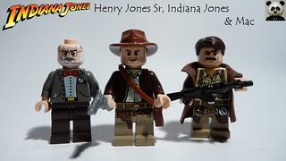 Indiana Jones - Henry Jones Sr., Indiana Jones & Mac