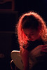 Nilufer Yanya (cath dupuy) Tags: music london islington thelexington niluferyanya venue concert gig livemusic musicphotography songwriter thelineofbestfit red lights hair guitar silhouette artist singer guitarlove