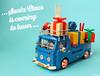 It's Christmas time (Andrea Lattanzio) Tags: christmas lego volkswagen vw t1 norton norton74 gifts xmas santaclaus bulli foitsop