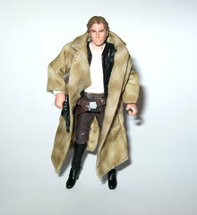 VC62 han solo endor star wars the vintage collection return of the jedi hasbro 2011 e (tjparkside) Tags: vc62 vc tvc 62 han solo trench coat endor star wars vintage collection 2011 basic action figure figures episode 6 six vi rotj return jedi smuggler bunker sheild generator attack raid blastech dl44 dl 44 blaster pistol weapon weapons vest belt holster rebels rebel forest moon death ewok ewoks