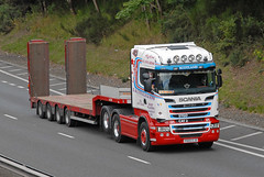 SCANIA - E & J Douglas & Sons  PD05 EJD (john_mullin Thanks for 12 million views) Tags: scotland scottish british uk truck trucks trucking lorry lorries hgv commercials transport vehicle vehicles goods distribution freight haulage supply delivery logistics broxden perth perthshire