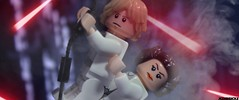 CHASM SWING (JediBricks) Tags: lego star wars starwars legostarwars death lukeskywalker luke skywalker princess leia organa laser legography photography swing stormtrooper darth vader emperor imperial episodeiv anewhope