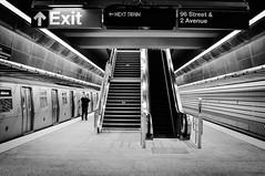 The Next Train (Lojones13) Tags: art subway silver architecture newyork secondavenue inside train tunnel