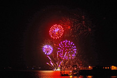 Hythe Fireworks 4 (David Blandford photography) Tags: hythe pier fireworks southamptonwater southamptondocks hampshire arcadia cruise liner