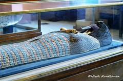 Lid from the Coffin - KV55 (konde) Tags: kv55 valleyofthekings 18thdynasty newkingdom coffin mummycoffin gilded treasure art uraei cartouche hieroglyphs ancient cairomuseum