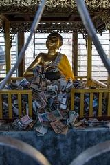 Donations (Ignacio Blanco) Tags: asia myanmar bagan temple ancient kingdom buddha faith mount popa knat sunrise sunset belief mountpopa pegu volcano pilgrimage nat relic mountain taungkalat monastry buddhism hermit 777 steps pedestal animist religion worship