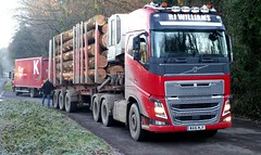 WA16MJY (South West Trucks) Tags: logs truck lorry volvo fh haulage timber