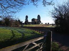 St Mary's Church (mark.griffin52) Tags: winter olympusem5 england bedfordshire leightonbuzzard oldlinslade stmarys churchyard fences gate trees church landscape