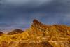 Manly Beacon (rkpunnamraju) Tags: manlybeacon storm nationalpark california mountain rock cloud rain landscape outdoor deathvalley