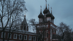 lhj5d (olegmescheryakov) Tags: keywords church cathedral religion old monastery europe architecture tourism street landmark ancient culture famous history monument historic sky view urban travel city building cityscape night blue light sunset clouds winter outdoor moskva moskau russland