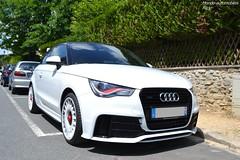 Audi A1 Quattro (Monde-Auto Passion Photos) Tags: auto automobile audi a1 quattro petite coupé france barbizon blanc sportive