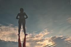 You're very big, my girl !!! (Carlos Arriero) Tags: manuelantonio costarica girl big chica reflejo reflections fineart composición composition carlosarriero nikon d800e tamron 2470mm nubes clouds playa beach creative flickr